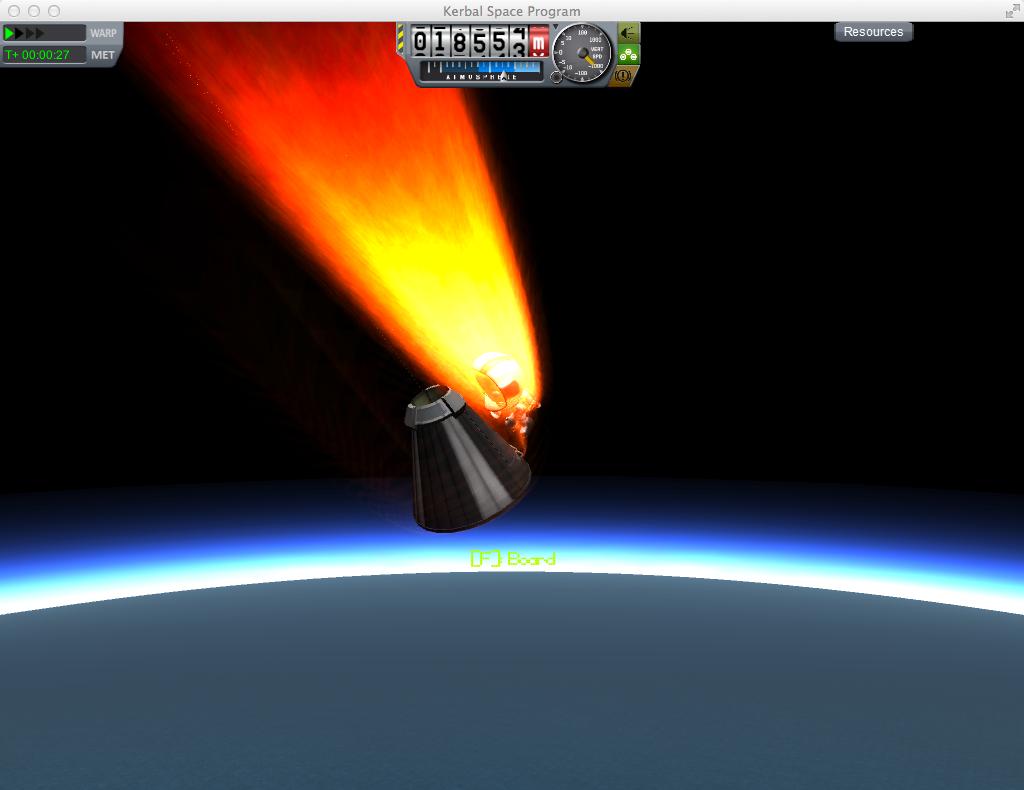 how to put into orbit kerbal space program